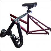 Rack Suporte Porta Prancha Surf Transboard Bike Polido